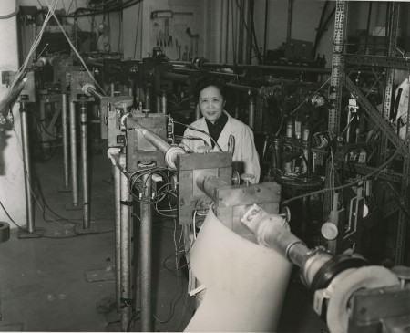 Chien-Shiung Wu en 1963 (Columbia University)