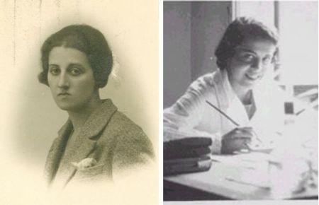 Felisa Martin Bravo y Dorotea Barnés González