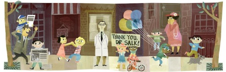 http://www.google.com/doodles/jonas-salks-100th-birthday