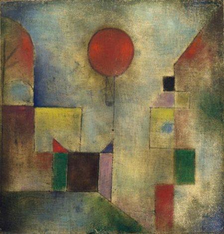 Globo rojo,1922