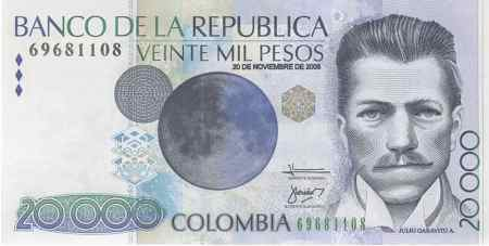__________________ COLOMBIA  BILLETES 20