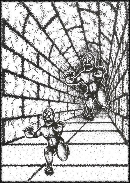 Terror subterra, el libro Mind Sights (1990), pág. 47