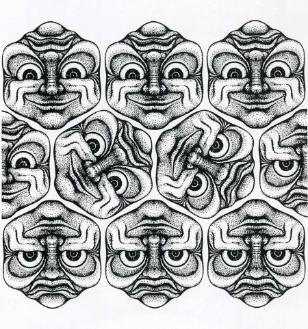 joge-e-faces-pattern
