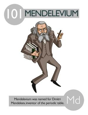 Mendelevio © Kaycie D.