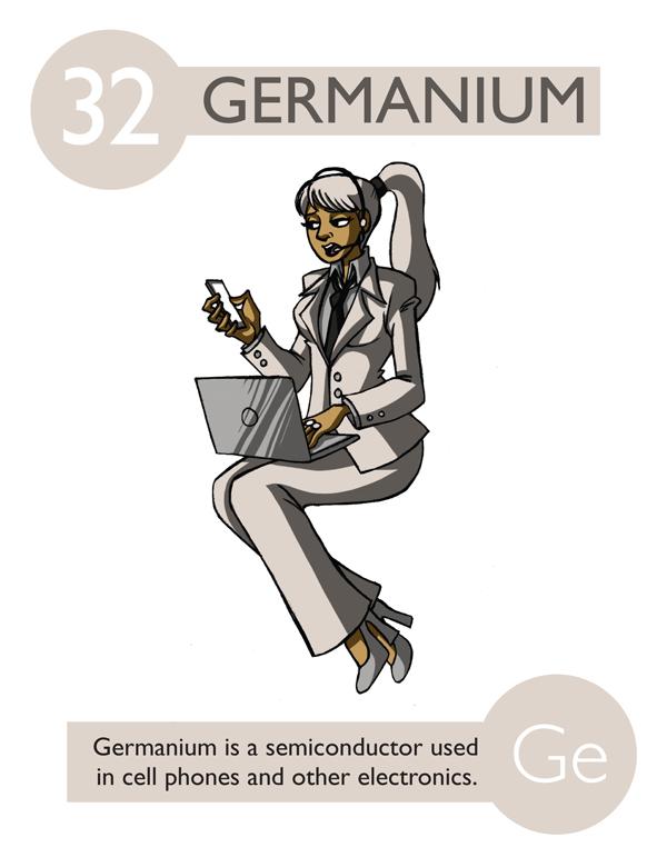 621886 clemens winkler descubri el germanio tabla peridica con elementos antropomorfos de kaycie d urtaz Gallery