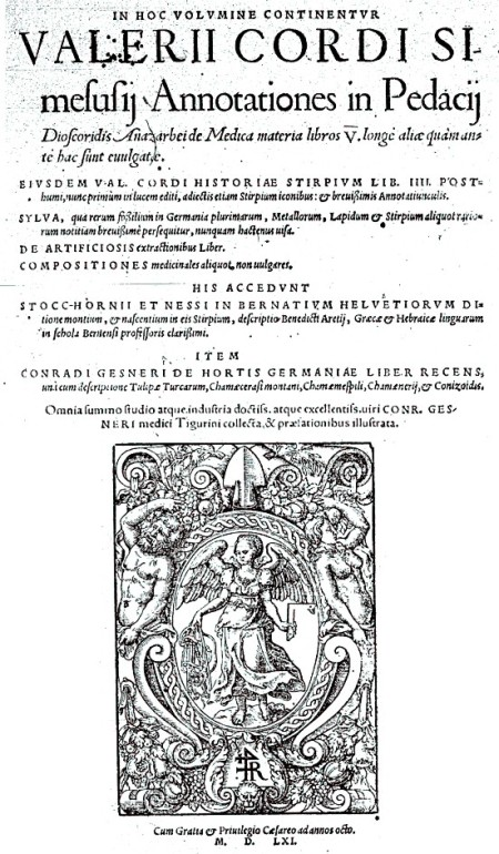 Annotationes in Pedacii Dioscoridis de Materia medica libros V
