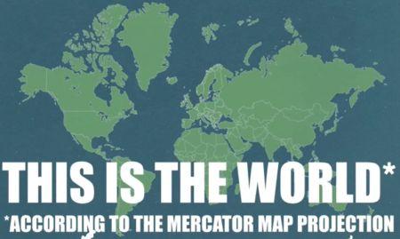 Proyeccción de Mercator