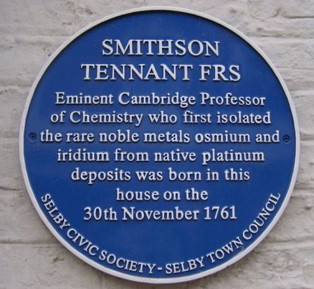Smithson_Tennant_Blue_Plaque