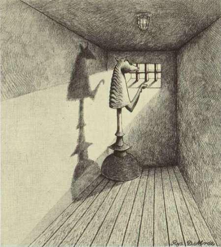 Ilustración de D.Mroz para el libro