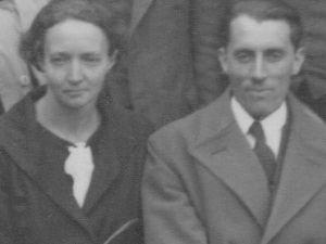 Irène Joliot-Curie y  Frédéric Joliot, International Conference on Physics, Londres, 1934