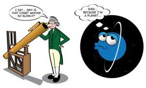 Se tardó mucho en descubrir urano