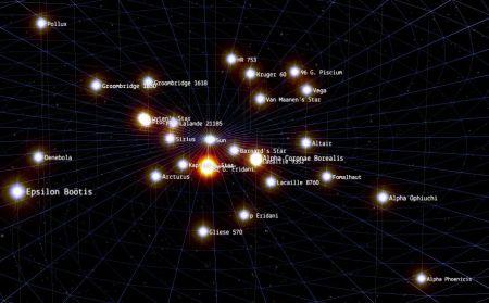 Captura de pantalla de 100,000 Stars