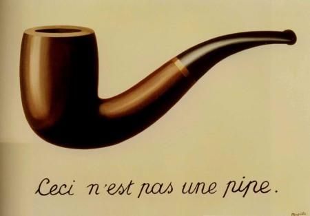 René Magritte, Ceci n'est pas une pipe (1929)