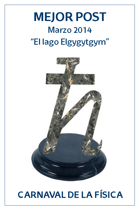 Premio a la Mejor Entrada de marzo del Carnaval de Física 2014: El lago elgygytgyn (por Marta Macho)