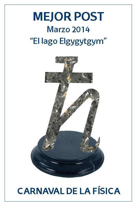 Premio a la Mejor Entrada de marzo del Carnaval de Física 2014: El lago elgygytgyn (por Marta Macho)