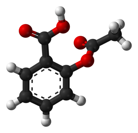 Molécula de aspirina