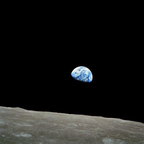 Earthrise, 24 de diciembre de 1968.