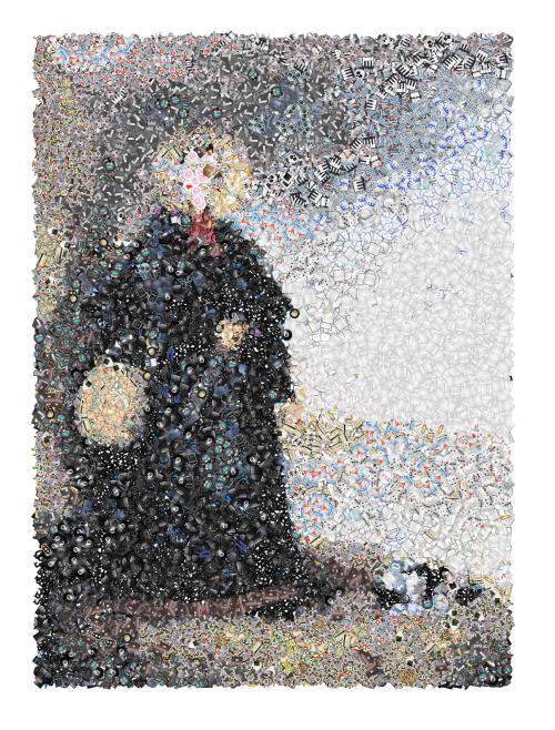 Realizado con Emoji Mosaic