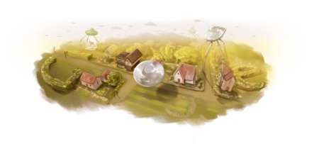 Doodle por el aniversario del nacimiento de H.G. Wells (2009).