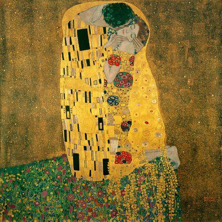 Gustav Klimt, Der Kuss (1907-1908)