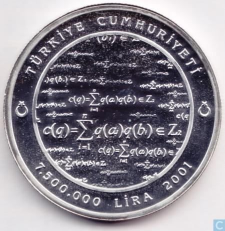 Reverso moneda (2001)