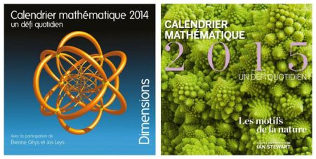 Calendario matemático 2014: un reto diario y Calendario matemático 2015: un reto diario