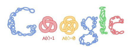 Doodle con motivo del centenario del nacimiento de Cahit Arf (2010)