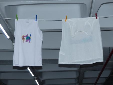 Las camisetas. Fotografía de Rosa Ausin