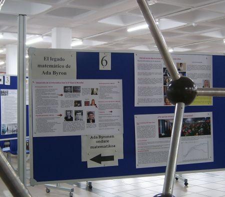Una vista de la exposición en la ZTF-FCT.