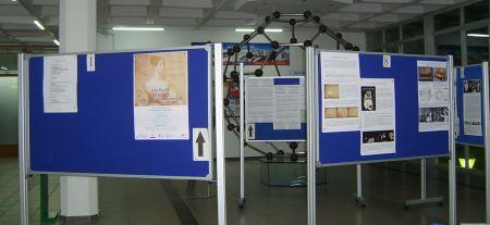 Una vista de la exposición en la ZTF-FCT