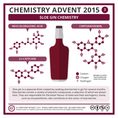 Sloe Gin Chemistry. © Compound Interest