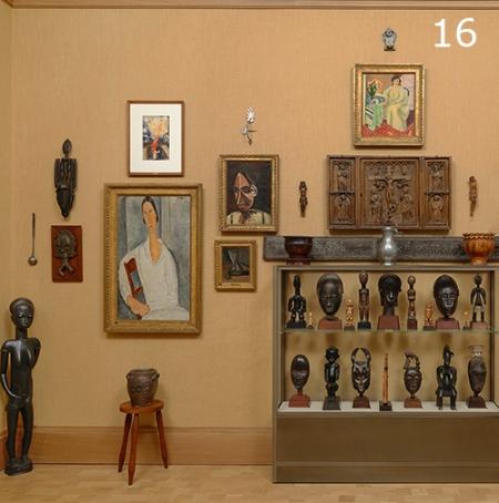 Día 16: A unique way of displaying art . © MPG