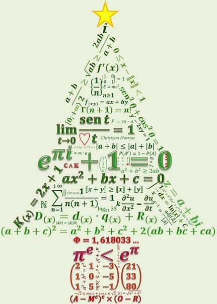 Matemáticas para pasar las navidades