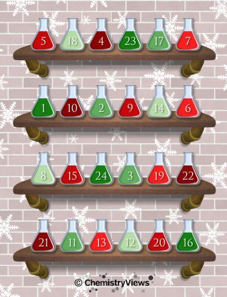 Chemistry Advent Calendar, de ChemViews