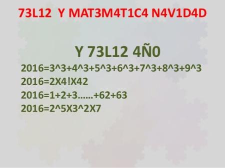 Feliz Navidad Matemática