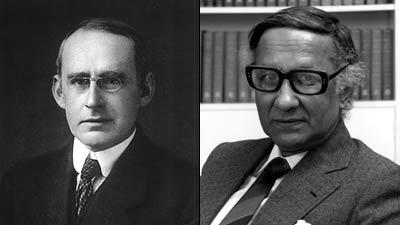 Arthur Stanley Eddington y Subrahmanyan Chandrasekhar