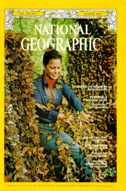 Portada del National Geographic con Catalina Trail
