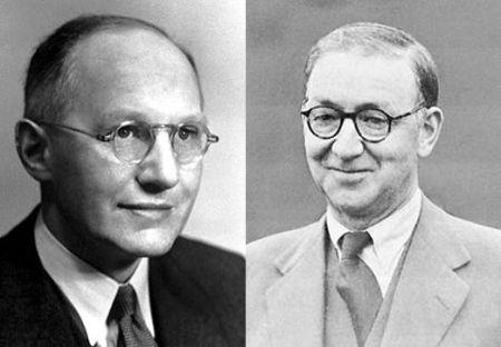 Ernest Walton y John Douglas Cockcroft.