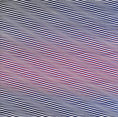 Bridget Riley, Cataract 3, 1967.