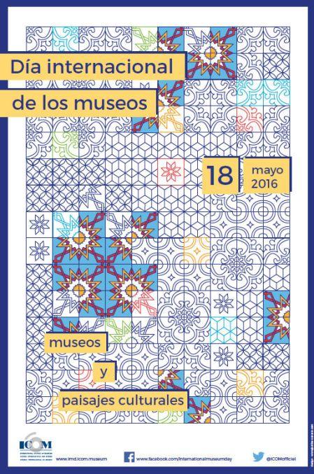 Cartel del Día Internacional de los Museos 2016.