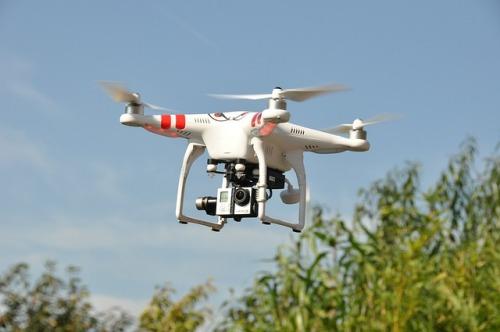2. irudia: Drone baten irudia.