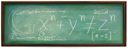 410 aniversario del nacimiento de Pierre de Fermat.