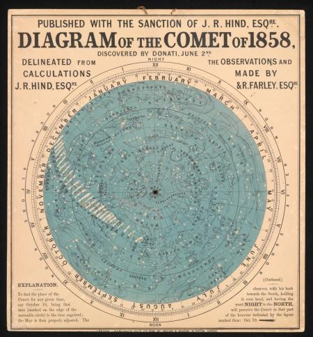El cometa Donati.