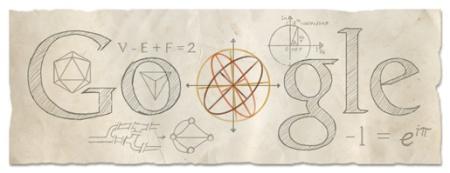 306 aniversario del nacimiento de Leonhard Euler, 15 abril 2013.