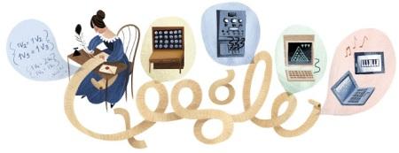 197 aniversario del nacimiento de Ada Lovelace.