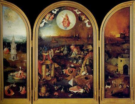 El juicio final (Museo Groeninge de Brujas), el Bosco.