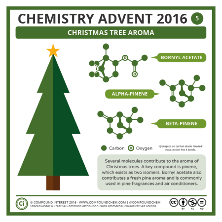 Christmas Tree Aroma. © Compound Interest.