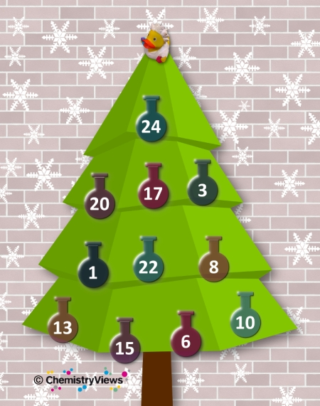 Chemistry Advent Calendar 2016. © Chemistry Views.