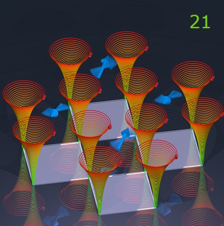 Día 21: Choreography of ions. © MPG
