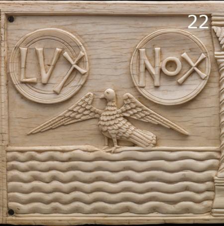 Día 22: Biblical images in ivory. © MPG